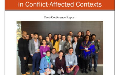 Education, Youth, and Peacebuilding: Post-Conference Report