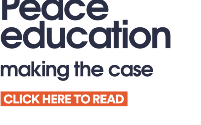 "QCEA Peace Programme's ""Peace education: Making the case"" report"