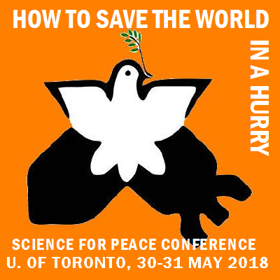 """Talk about Saving the World"" with Science for Peace's Metta Spencer"